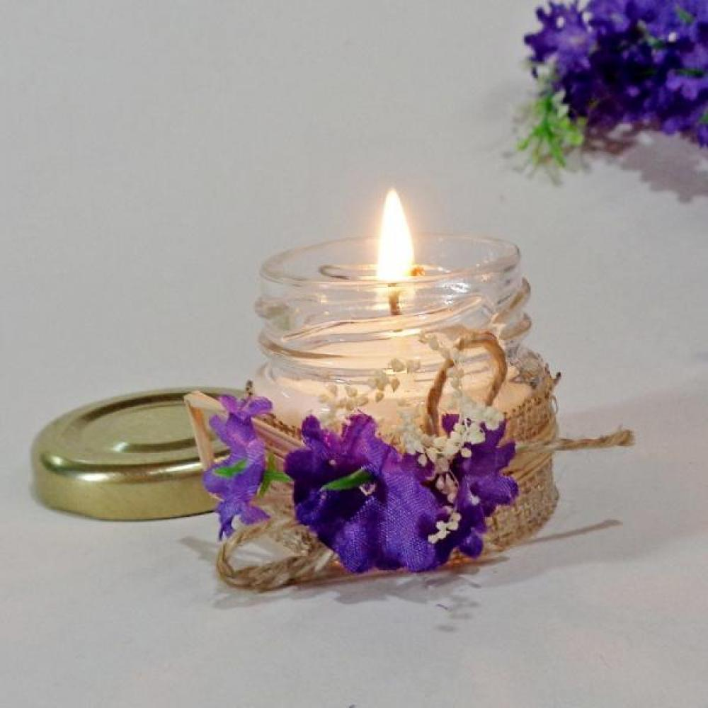Candles as wedding favours