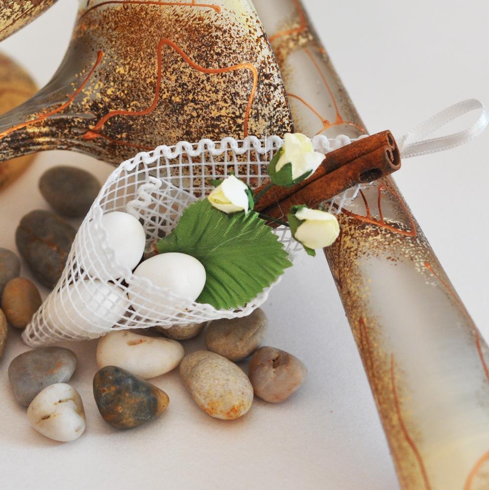 Handmade wedding favours