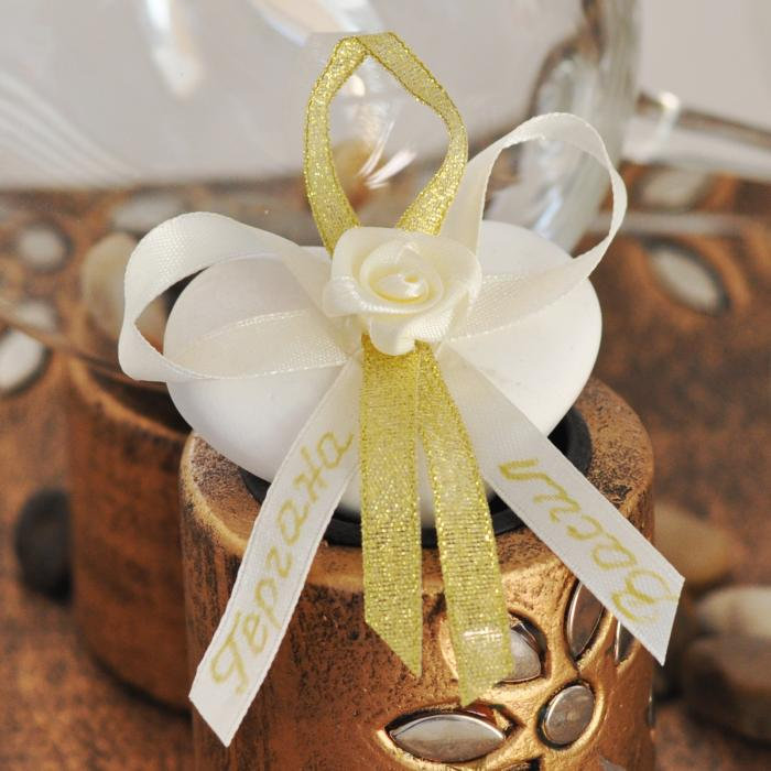 Unique wedding gift - ceramic heart
