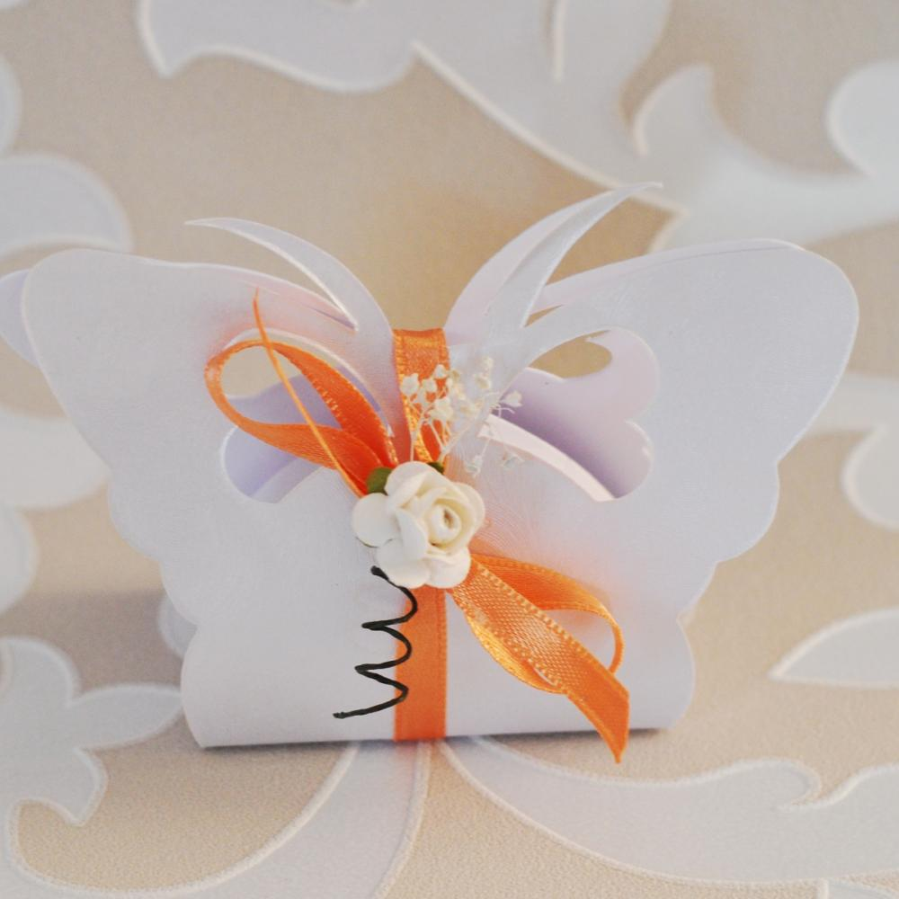 Butterfly - shaped wedding box GG902 | Prices and model