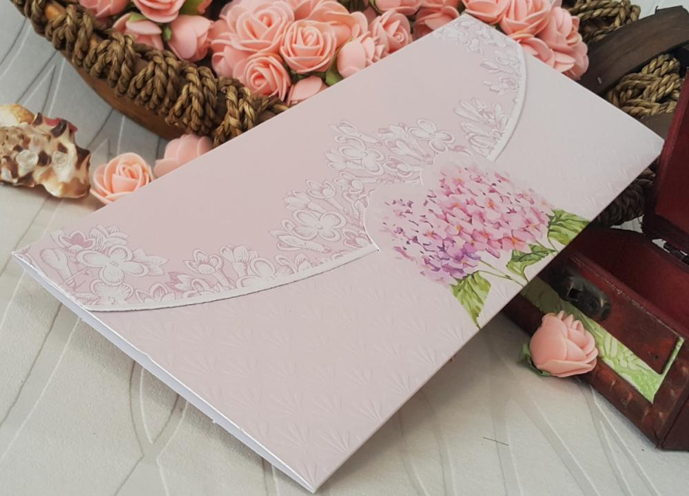 Gentle wedding invitation
