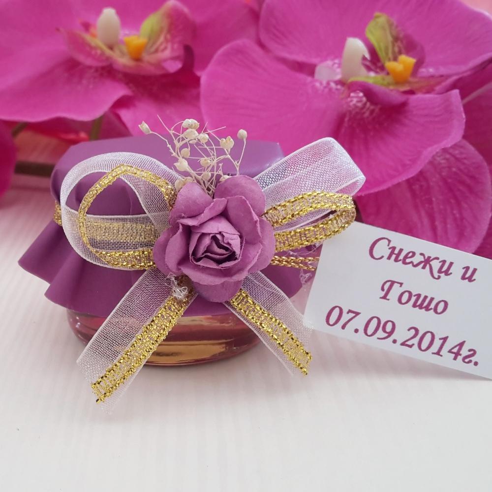 Unique wedding gifts - Mini honey Jar