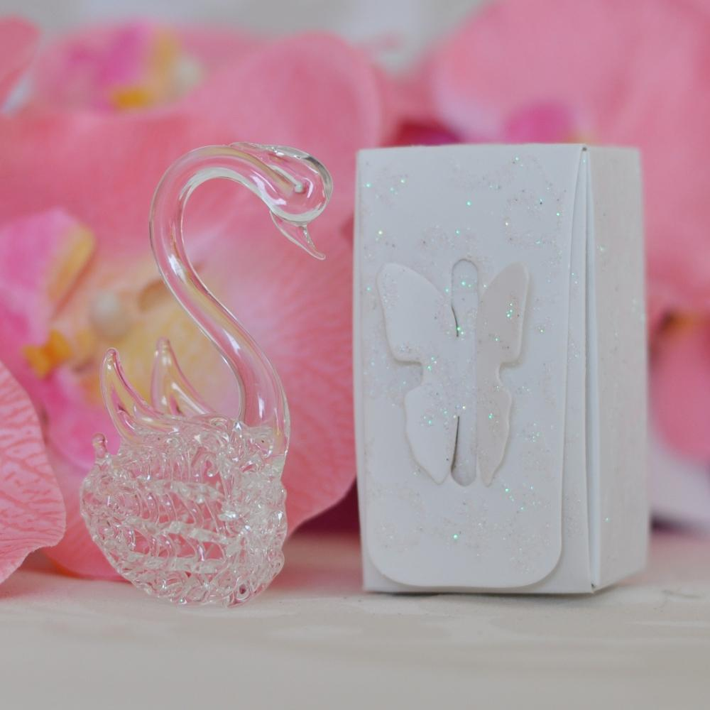 Wedding favor gift - Crystal swan GG049 | Prices and model