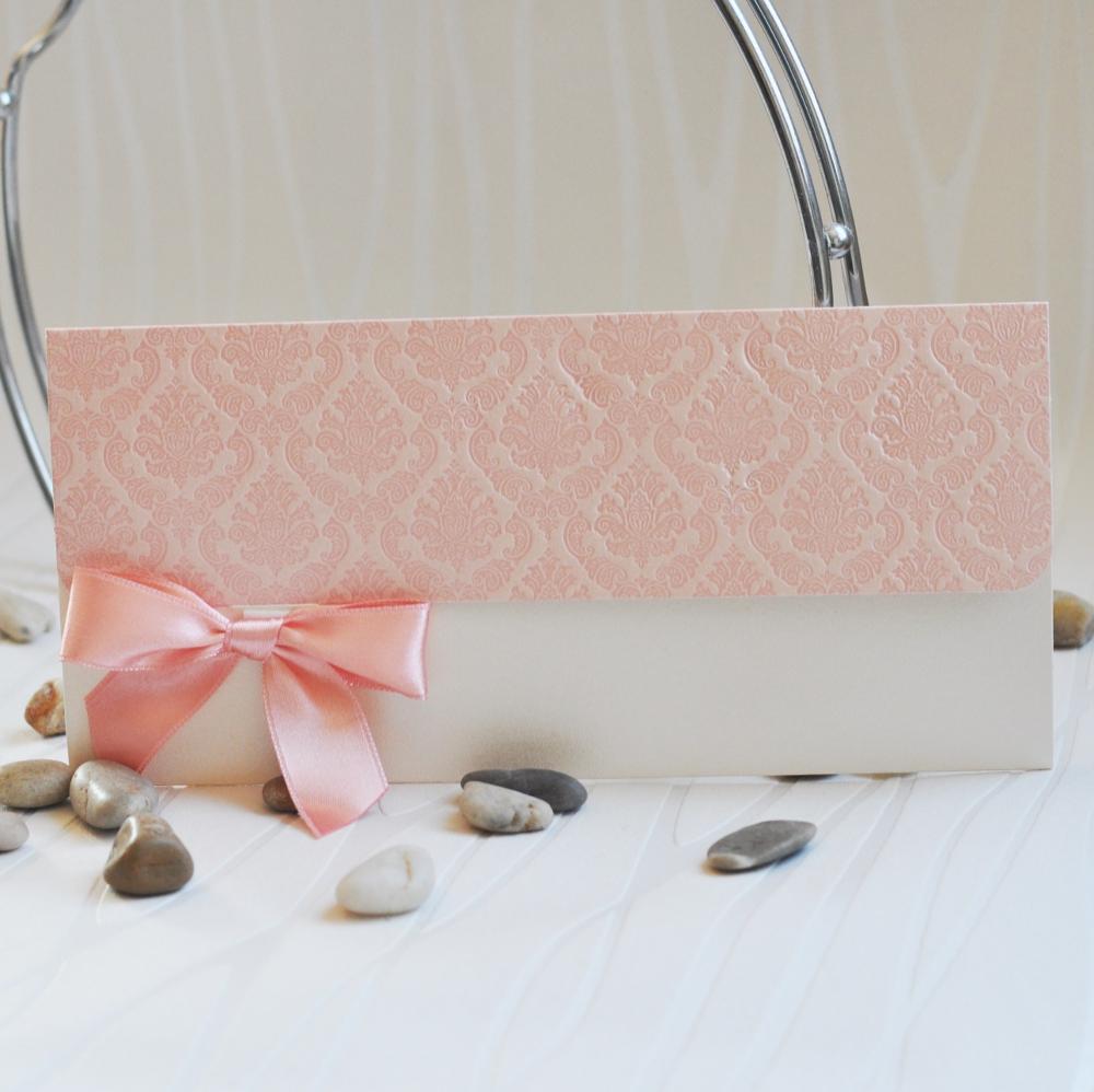 Delicate and delightful wedding invitation