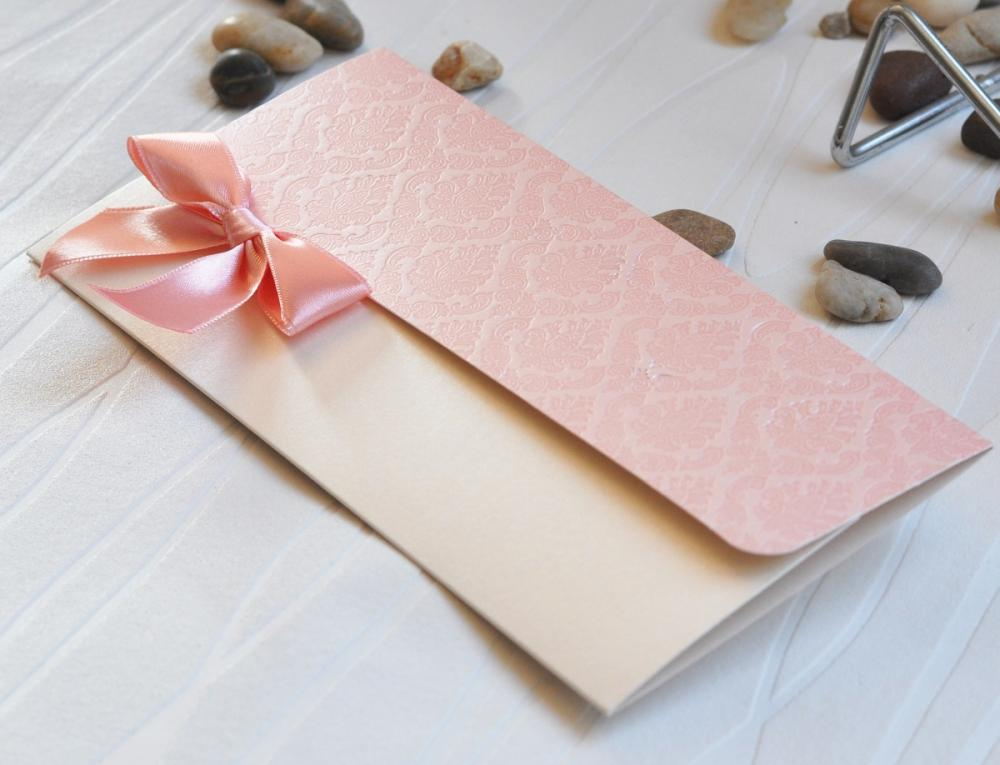 Delicate and delightful wedding invitation