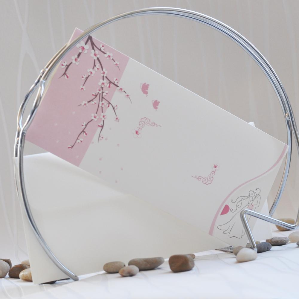 Wedding invitations with spring motives