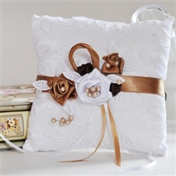 Wedding rings pillow