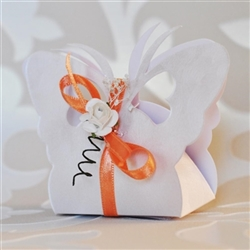 Butterfly - shaped wedding box