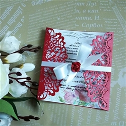 Exquisite wedding invitation