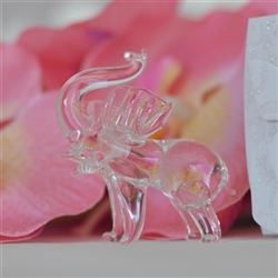 Wedding favor gift - Crystal elephant