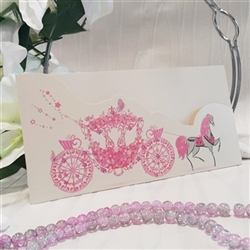 Wedding Invitations with a print carriage